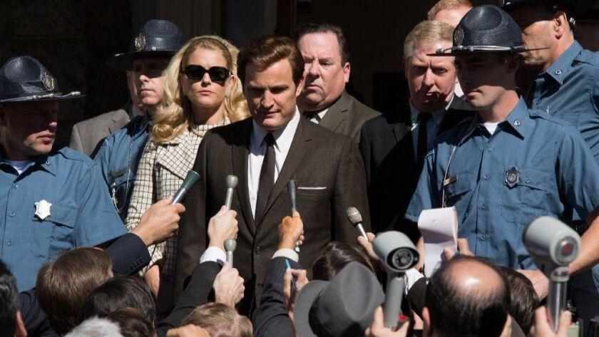 "Jason Clarke as Ted Kennedy in director John Curran's ""Chappaquiddick."""