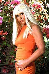 Donatella Versace says she learned about designing from her late brother, Gianni.