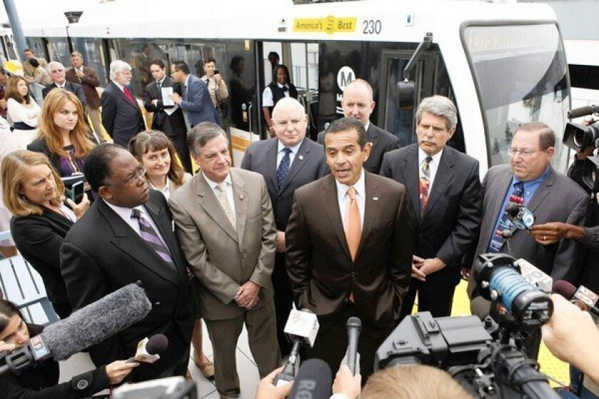 Congress set to OK bill that would help fund L.A. transit projects