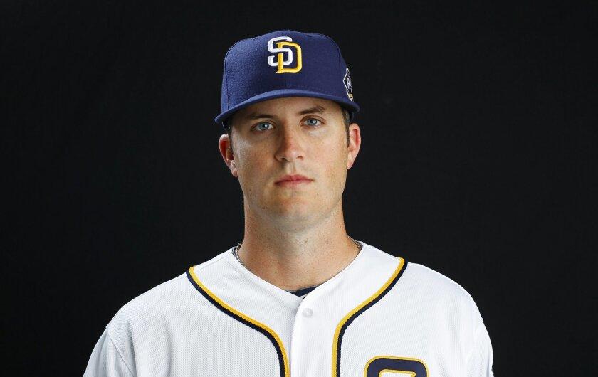 San Diego Padres pitcher Drew Pomeranz.