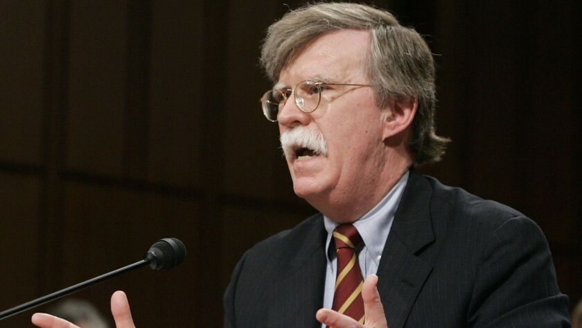 Senate Foreign Relations Committee Holds John Bolton Nomination Hearing
