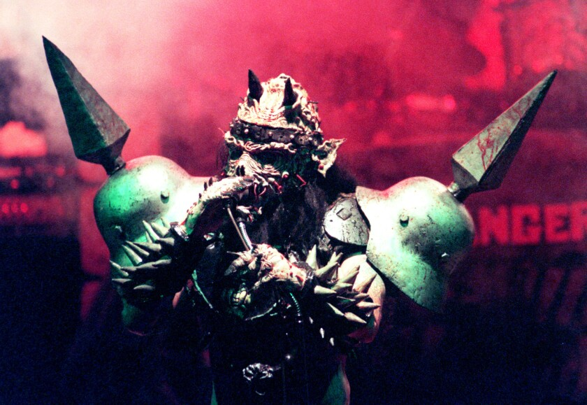 David Brockie, frontman for the satirical extra-terrestrial metal band Gwar, was found dead at his Richmond home on March 24. He was 50.