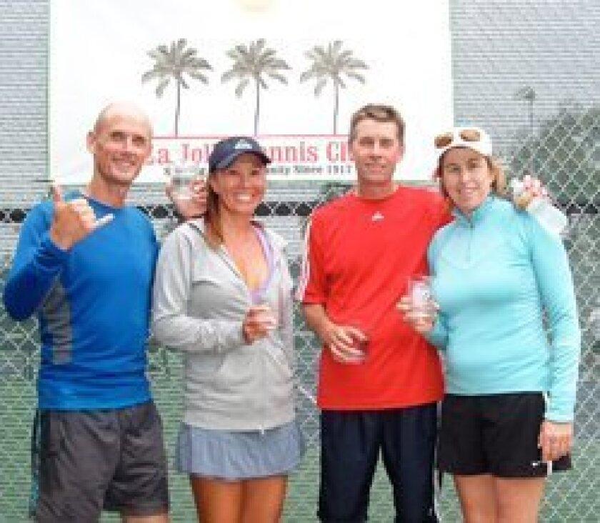 (L-R) Brett Buffington, Jennifer Dawson, Gretchen Magers and Jim Kellogg. Brett Buffington individual.