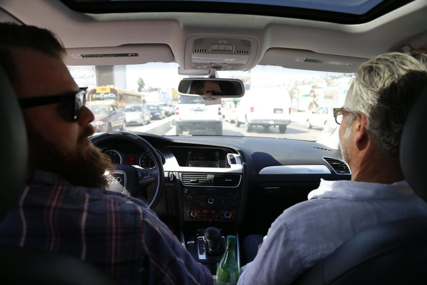 Chefs Chad White takes the wheel on our 10-hour culinary excursion in Tijuana, with chef/caterer Andrew Spurgin along for the ride - and the food.
