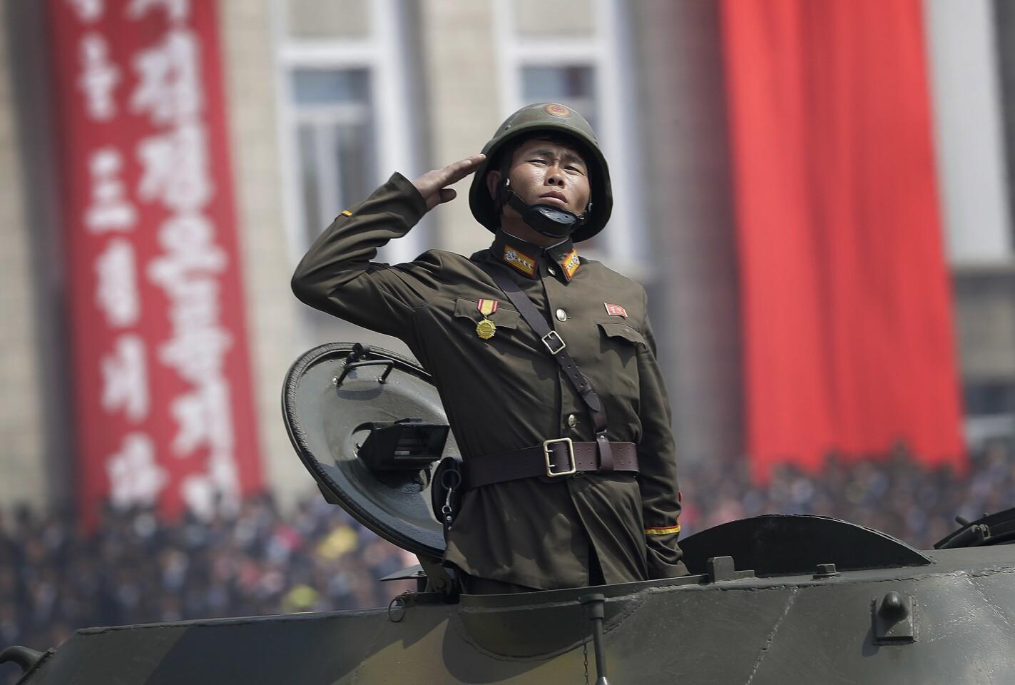 """North Korea celebrates """"Day of the Sun"""" festival"""