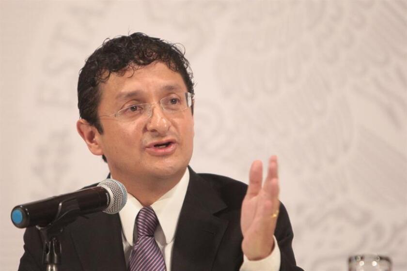 El exsecretario de la Función Pública (contralor) de México, Virgilio Andrade, fue designado hoy director del Banco del Ahorro Nacional y Servicios Financieros (BANSEFI), informó la Secretaría de Hacienda. EFE/Archivo