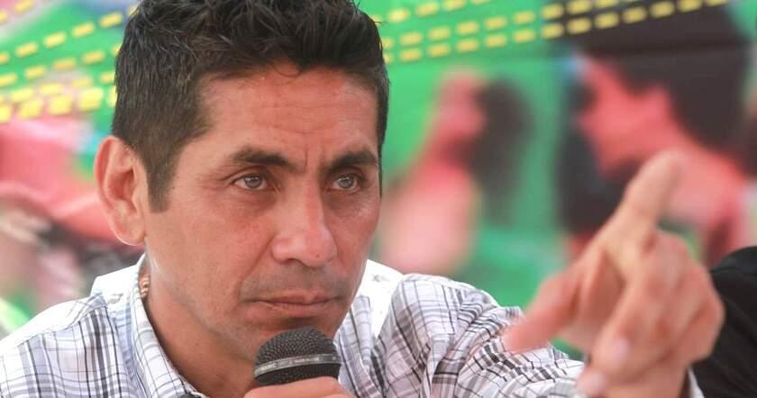 jorge Campos, ex portero de la selección mexicana de futbol.