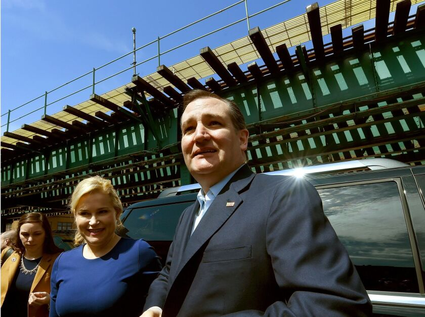When Republican presidential candidate Ted Cruz and his wife, Heidi, campaigned in the Bronx recently, their visit sparked a memorable New York Daily News headline.