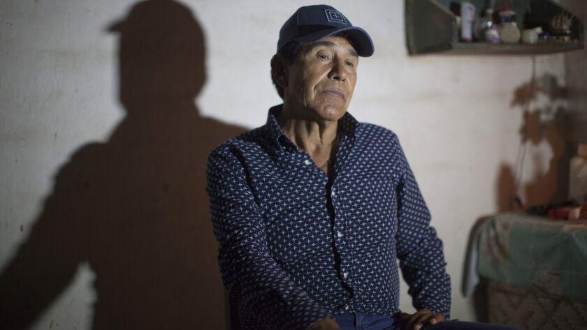 Rafael Caro Quintero in interview with Proceso magazine in 2016.