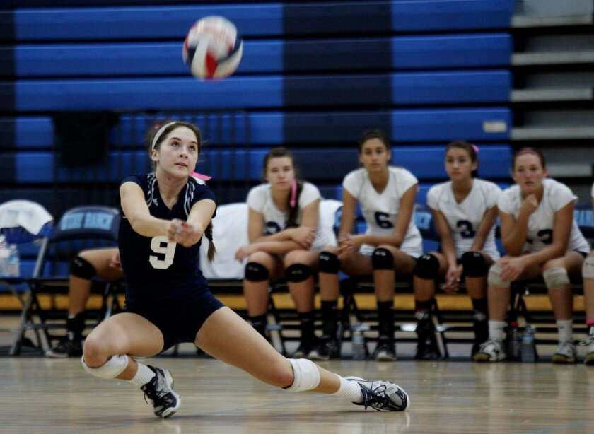 2011 All-Academic girls volleyball team - The San Diego