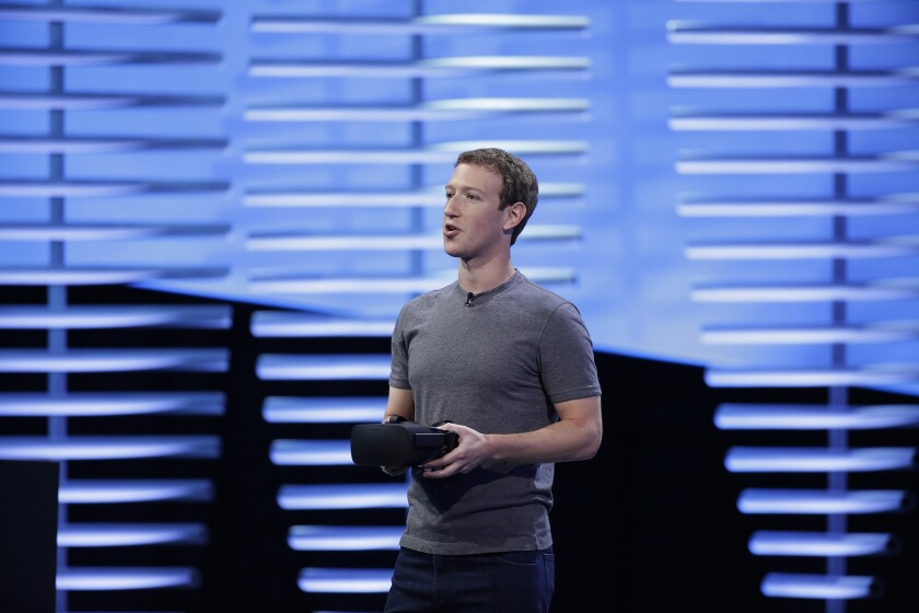 As Facebook plans for the future, VR looms large - Los