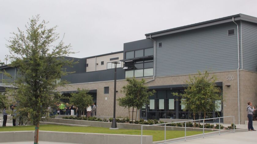 The new Earl Warren campus.