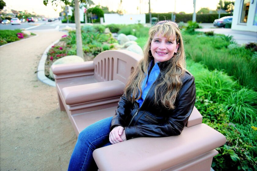 "Francine Filsinger, president of the nonprofit San Diego Filmmakers, lives in Encinitas, where she is helping produce a television show called ""Life on the Lot."" CREDIT: Tom Pfingsten"