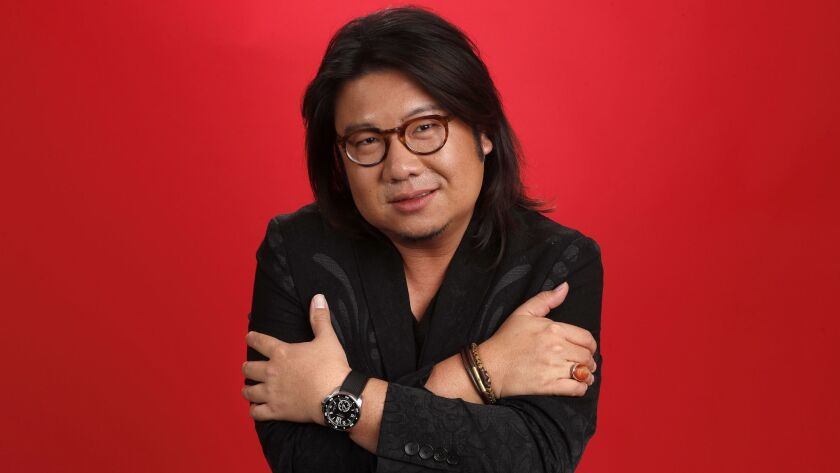 "Author Kevin Kwan wrote ""Crazy Rich Asians."""