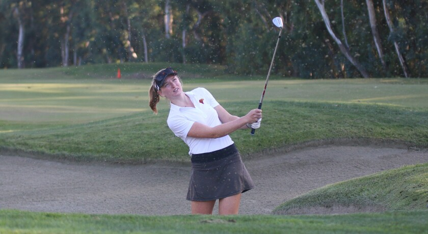 Junior Libby Fleming was the low scorer for Torrey Pines at 39.