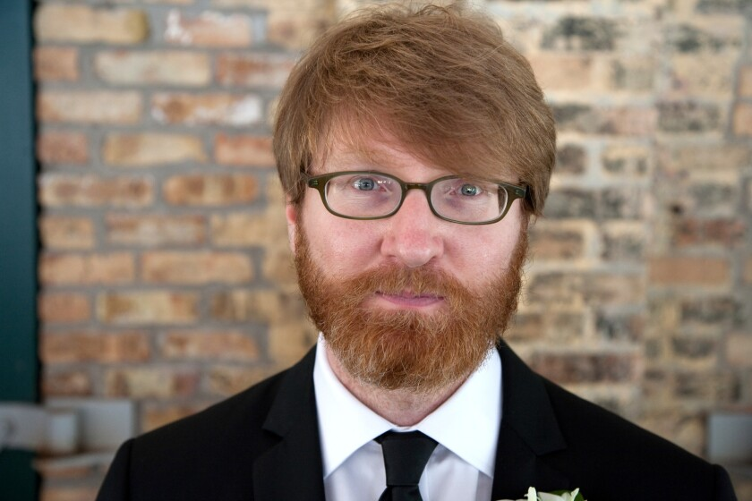 "Chuck Klosterman, author of ""Raised in Captivity."""