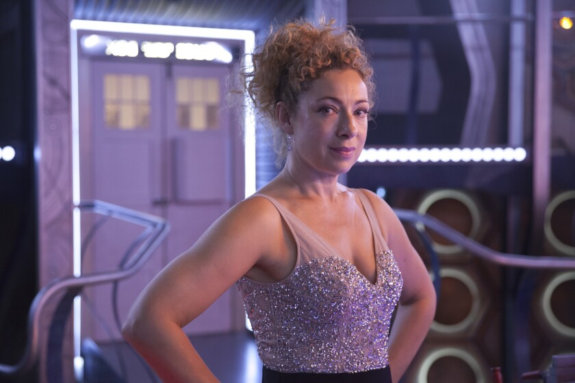 """Alex Kingston, who played River Song on """"Doctor Who,"""" will be returning to the BBC show for its Christmas special."""