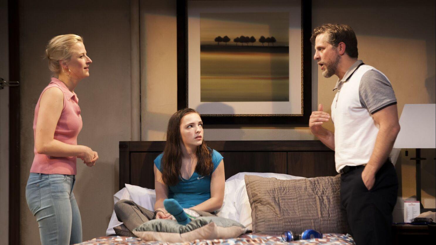 Amanda Peet Sex Scene review: amanda peet's 'our very own carlin mccullough': a