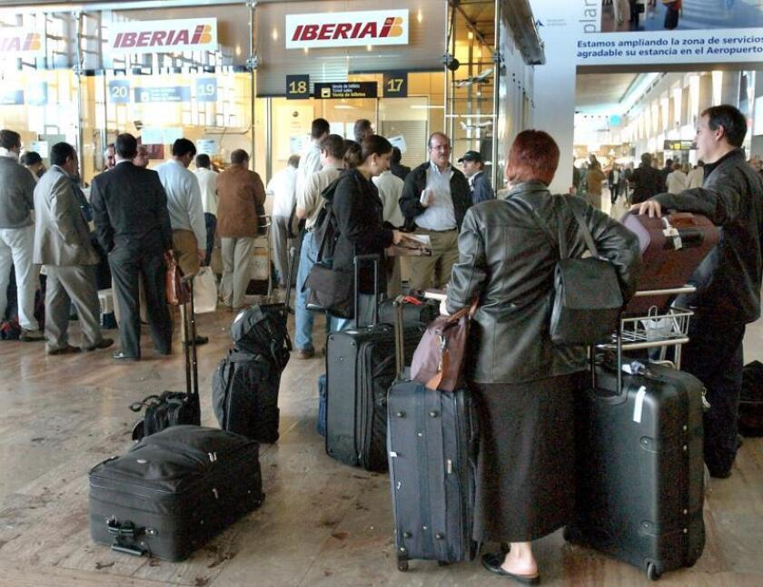 El aeropuerto de Barcelona. EFE/Archivo
