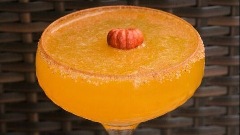Grant Grill's Smashing Pumpkin cocktail.
