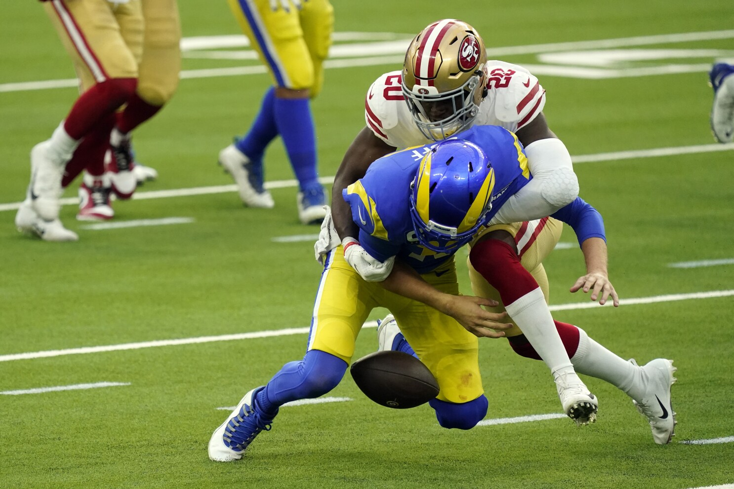 Goff S Turnovers Loom Large In Rams Loss To 49ers The San Diego Union Tribune