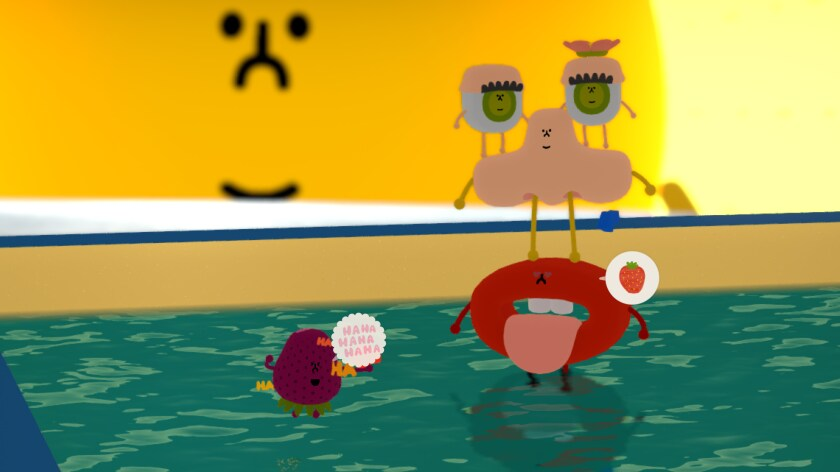 """In """"Wattam,"""" as our objects make more connections, the world becomes brighter and happier."""