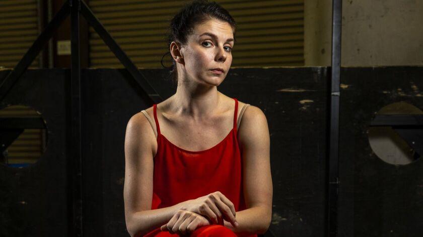 COSTA MESA,CA --MONDAY, JULY 30, 2018--Dancer Natalia Osipova, is photographed following a rehearsal