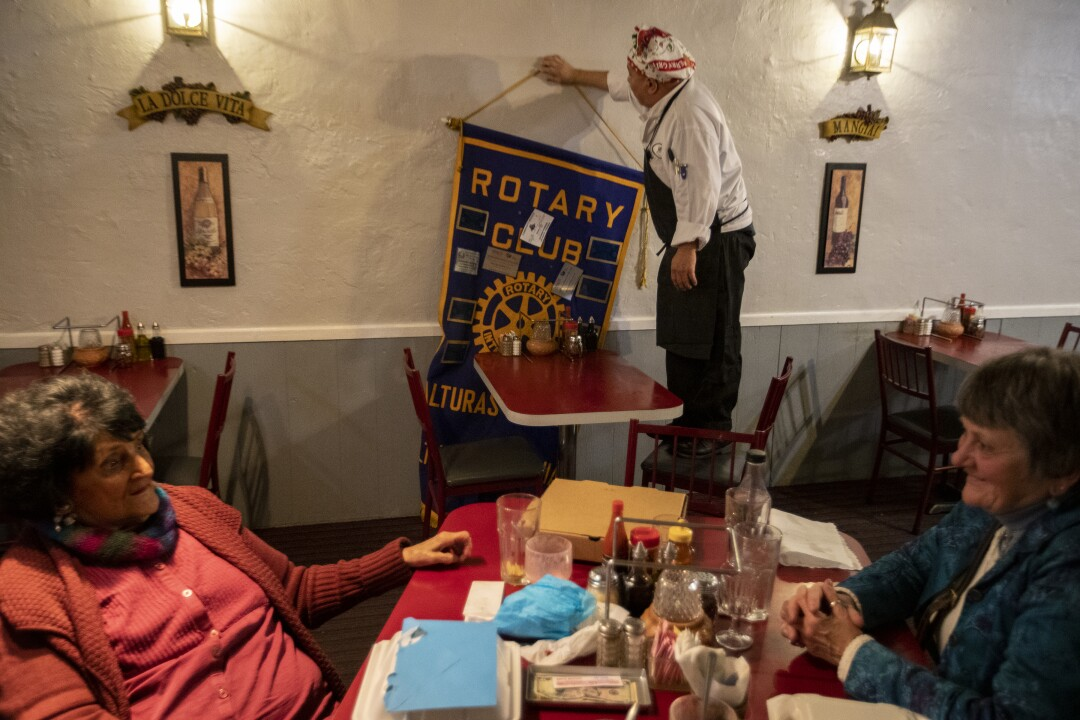 Rotary Club meeting in Alturas