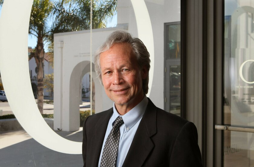 Portrait of Daniel Foster, the former Director of the Oceanside Museum of Art.