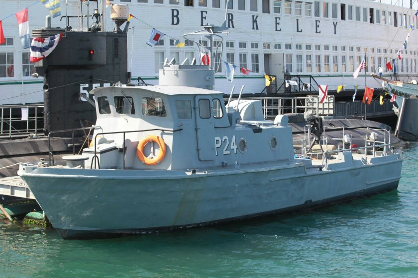 The Maritime Museum of San Diego recently acquired a Vietnam-era Swift Boat, which will take its place as an operable exhibit at the museum.