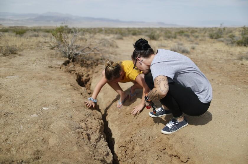 USGS ha estimado que hay una probabilidad de terremoto de Los Ángeles de un 75%.