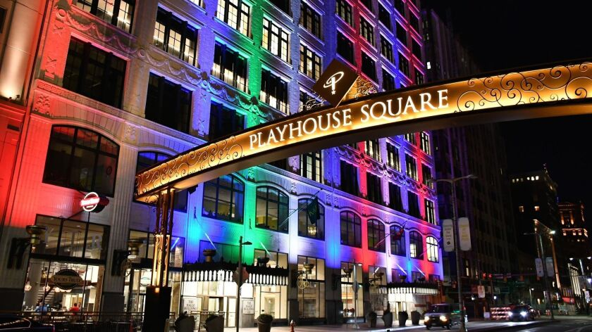 Playhouse Square, Cleveland.
