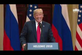 Trump sidesteps question on Russian probe