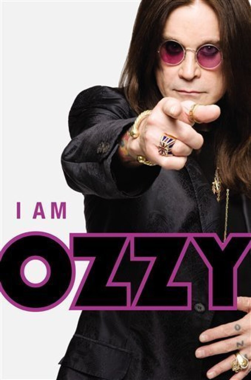 """In this book cover image released by Grand Central Publishing, Ozzy osborne's """"I am Ozzy,"""" is shown. (AP Photo/Grand Central Publishing)"""