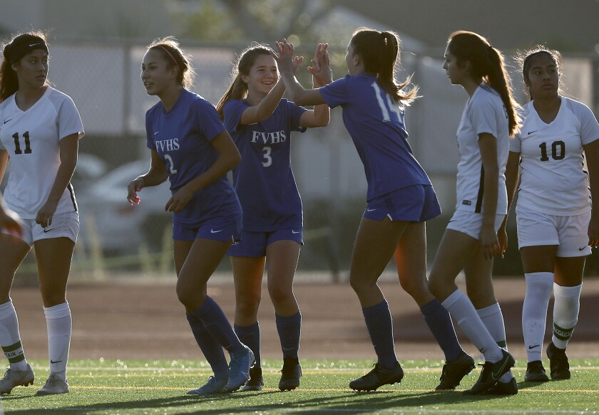 Fountain Valley girls' soccer continues strong start with shutout ...