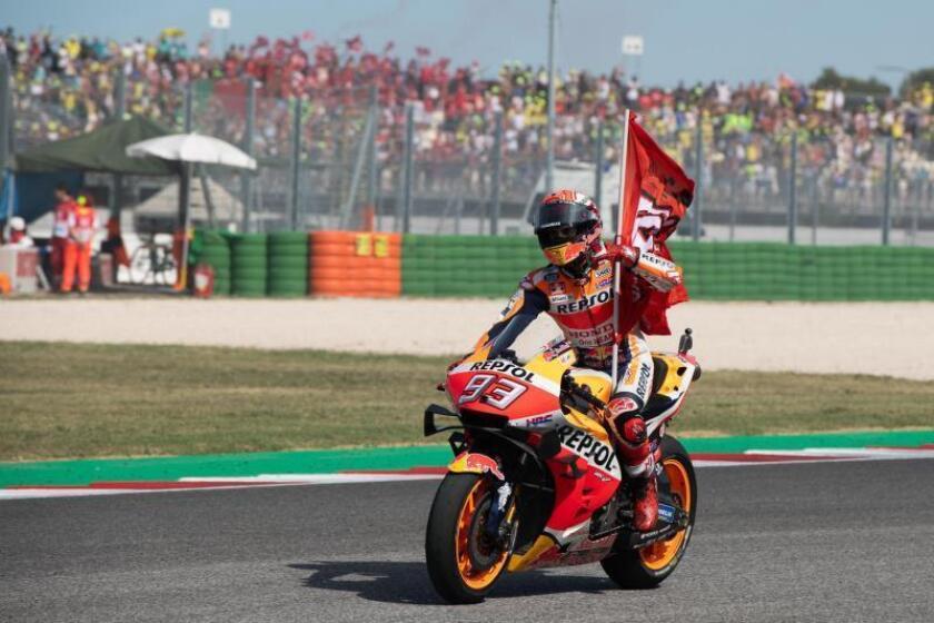 Victoria de campeonato para Márquez
