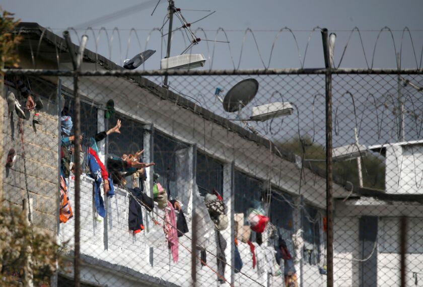 Colombia prison riot