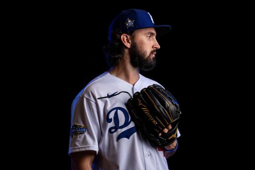 Dodgers starting pitcher Tony Gonsolin.