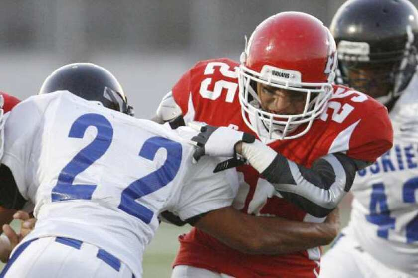 Burroughs falters late, loses to North Hollywood