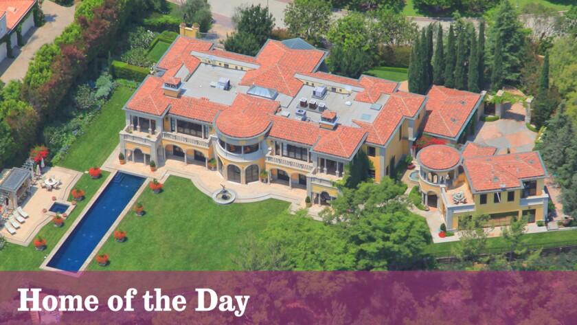 Richard Landry-designed villa in Beverly Hills