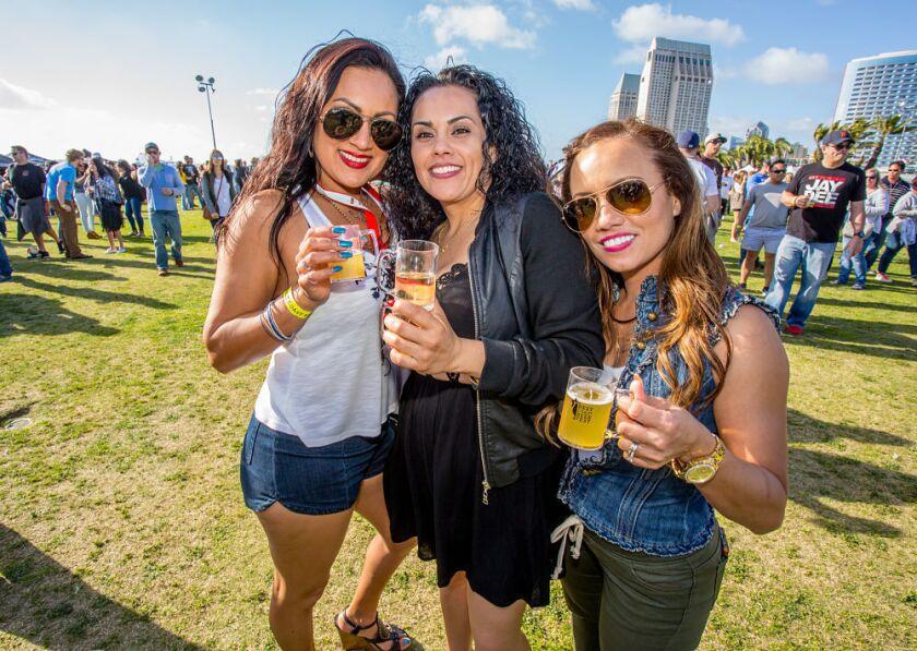 Best Coast Beer Fest kicks off at 2 p.m. on Saturday, March 11 at Embarcadero Park South. (Bradley Schweit)