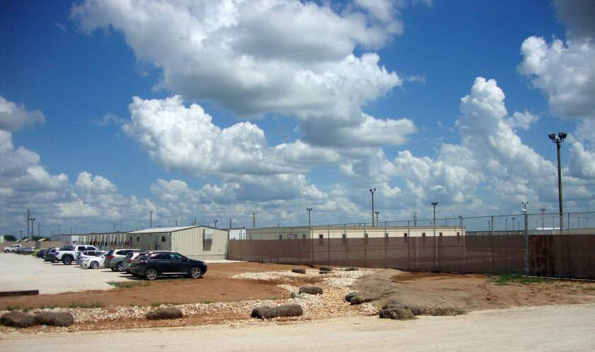 The South Texas Family Residential Center is the largest of the nation's three immigration detention centers for families.