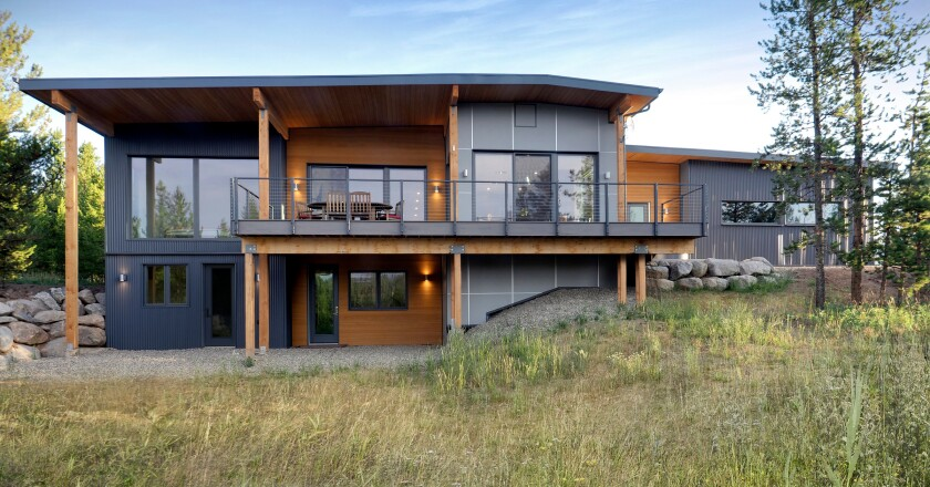 Construction tech startup Dvele makes luxury and high-tech prefab homes. The company is building software that allows buyers to design their homes online.