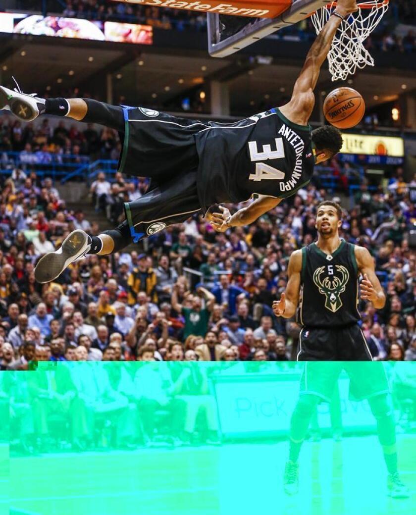 Los Bucks confirmaron de nuevo el dominio que presentan cuando se enfrentan a los Nets desde que son dirigidos por el entrenador Jason Kidd, quien dejó precisamente el puesto con el equipo neoyorquino para irse con el de Milwaukee. EFE/Archivo