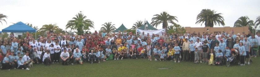 """The annual Walk for Angelman Syndrome """"is designed to show people that they're not alone in this journey,"""" says Alice Evans, co-chair of the May 16 walk at Ocean Air Park in Carmel Valley."""