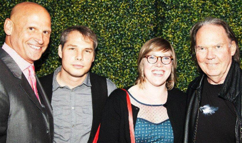 Shepard Fairey, Neil Young help debut Perry Rubenstein gallery