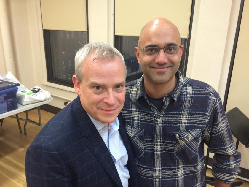 'JUNK: The Golden Age of Debt' director Doug Hughes and playwright Ayad Akhtar