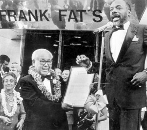 For 80 years, Frank Fat's has been 'home away from home' for politicians in Sacramento