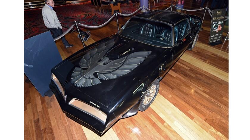 Burt Reynolds' Pontiac Trans Am sold