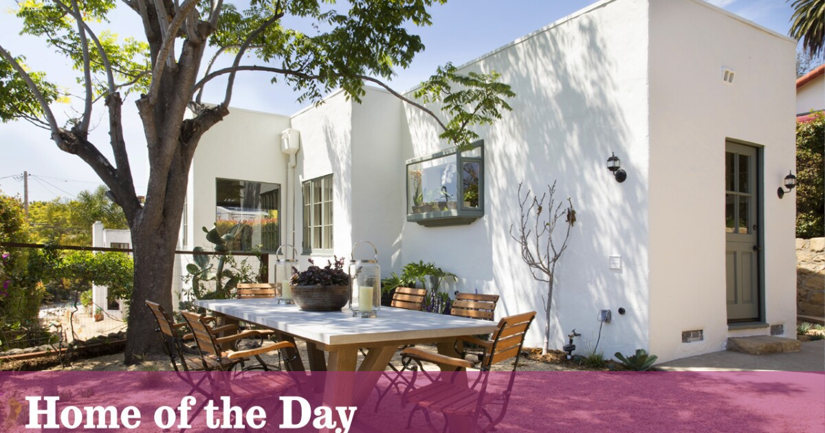 Home Of The Day 1930s Spanish Revival Bungalow In Santa